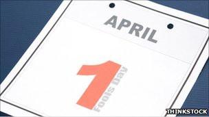 Calendario del 1ro de abril