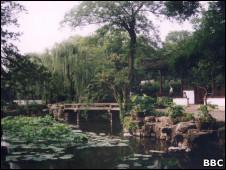 Jardim em Suzhou