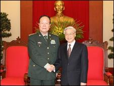 Quan hệ Trung - Việt (hình: TTXVN, báo CAND)