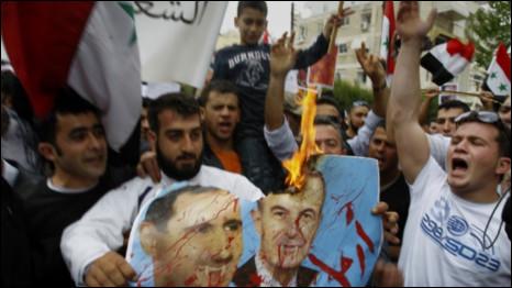 Người biểu tình Syria