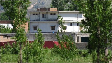Khu tổ hợp nơi Osama Bin Laden sinh sống
