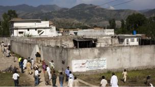 المجمع الذي كان يقيم فيه بن لادن