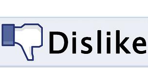 """Botón de """"No me gusta"""" en Facebook"""