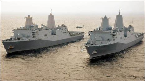 Hải quân Hoa Kỳ (Hình: Website Hải quân Mỹ)