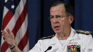 Đô đốc Mike Mullen (Hình: AP)
