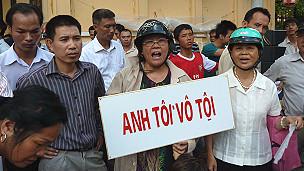 Vụ án Cù Huy Hà Vũ (AFP)