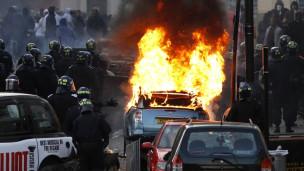 Disturbios en Inglaterra