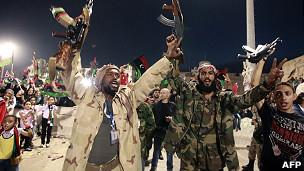 Combatientes libios