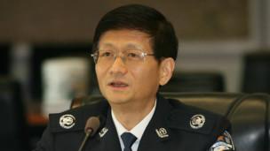 Bộ trưởng Công an Trung Quốc Mạnh Kiến Trụ