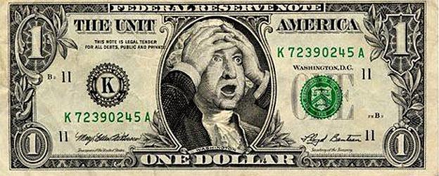 Dólar aterrado