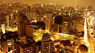 Sao Paulo de noche