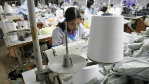 Một công ty dệt may ở Hà Nội