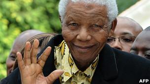 Nelson Mandela (foto de arquivo)