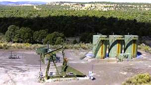 Sitio en Rattlesnake Canyon, en Nuevo Mexico donde se realizó el estudio