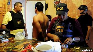 Operativo antidrogas en América Latina