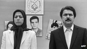 Maryam y Massoud Rajavi