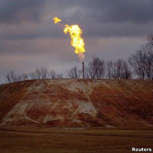Exploração de combustível na Pensilvânia, EUA (Reuters)