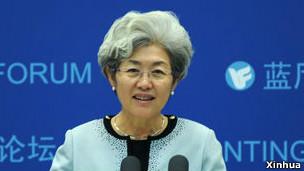 Thứ trưởng ngoại giao TQ Phó Oánh