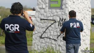 Imagen de los Zetas