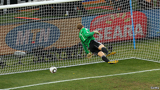 Manuel Neuer en Mundial Sudáfrica 2010