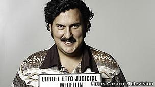 Fotograma de la serie TV, Escobar, el patrón del mal