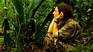 Kim Bostwick en los bosques nublados de Ecuador