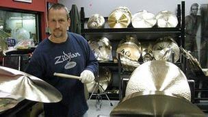 Fábrica de platillos Zildjian