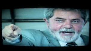 Imagem de Lula no comercial de Shafiq (YouTube)