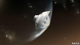 تصاویر ساختگی از فرود کنجکاوی
