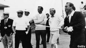 Arnold Palmer, Jack Nicklaus y Gary Player