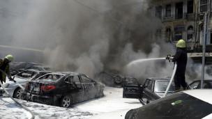 Bom nổ ở Damascus