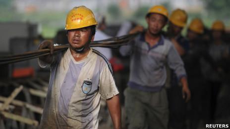 Lao động Trung Quốc (ảnh chỉ có tính chất minh họa)
