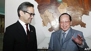 Ngoại trưởng Indonesia và Campuchia