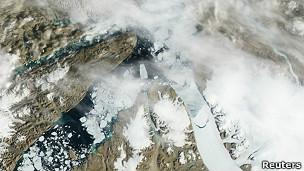 Glaciar Petermann