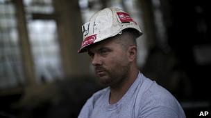 Un minero español