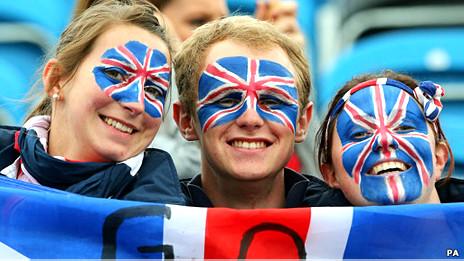 Khán giả hâm mộ tại Olympics 2012