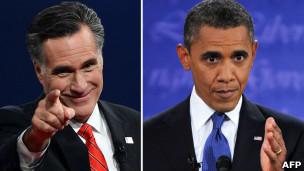 TT Barack Obama và ứng viên Mitt Romney tranh luận tại Denver