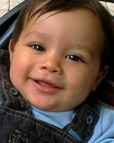جہاد کا گیارہ ماہ کا بچہ عمر