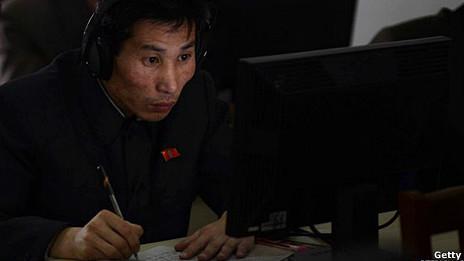 Iinternauta en Corea del Norte