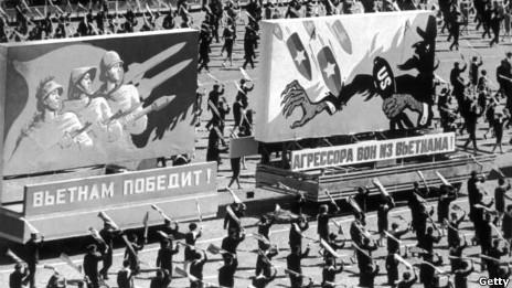 Tuần hành ở Moscow năm 1968 ủng hộ Bắc Việt Nam chống Mỹ