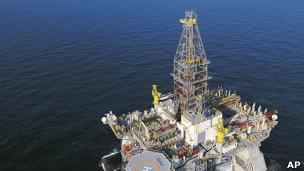 Plataforma de petróleo / AP