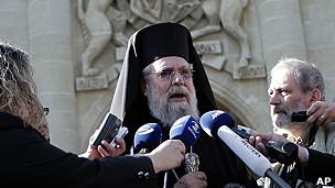 El arzobispo Chrisóstomos II
