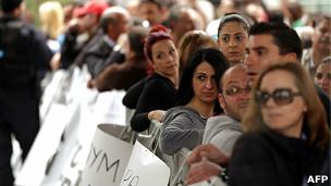Protesta en Chipre