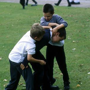 Pelea en un colegio de Inglaterra