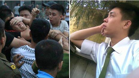 Người trấn áp biểu tình và cảnh sát bị tố cáo Lê Ngọc Tùng
