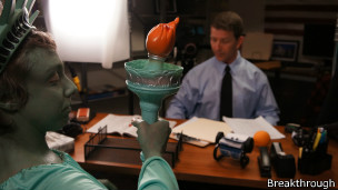 Imagen de la grabación de la campaña