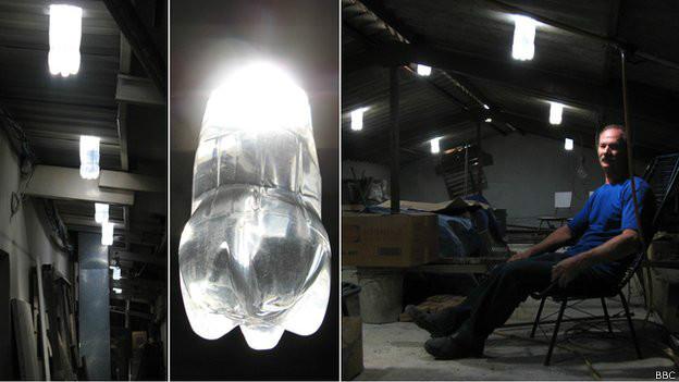 Brasileiro inventor de 'luz engarrafada' tem ideia espalhada pelo mundo