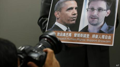 Obama y Snowden