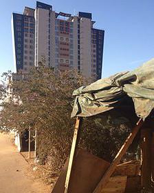 Edificios de reciente construcción en Gaborone