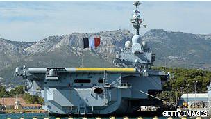 Portaaviones Charles de Gaulle